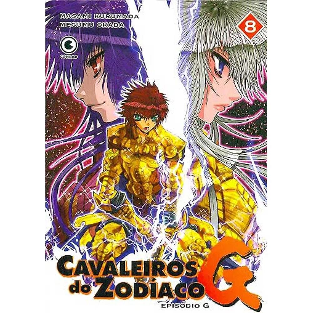 Os Cavaleiros do Zodíaco - Episódio G - Volume 08 - Usado