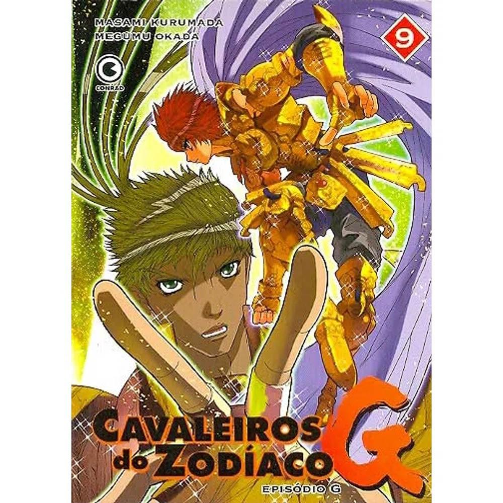 Os Cavaleiros do Zodíaco - Episódio G - Volume 09 - Usado