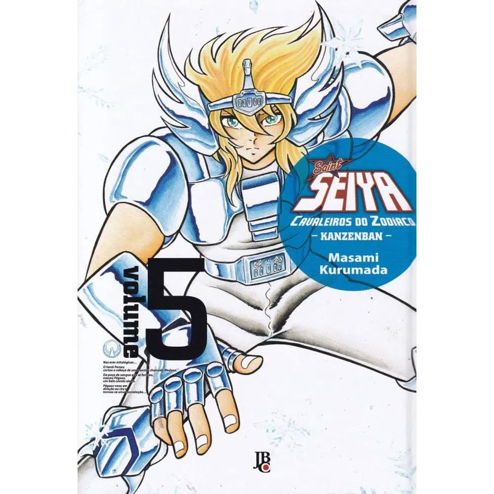 Os Cavaleiros do Zodíaco Kanzenban - Volume 05 - Usado