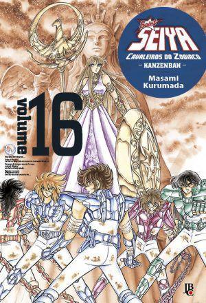 Os Cavaleiros do Zodíaco Kanzenban - Volume 16