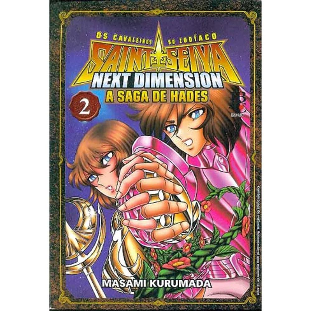 Os Cavaleiros do Zodíaco - Next Dimension - A Saga de Hades - Volume 02 - Usado