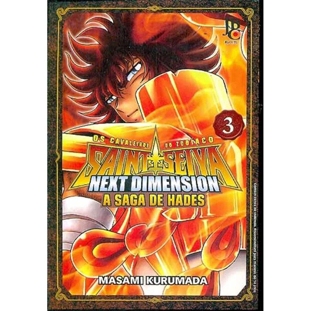 Os Cavaleiros do Zodíaco - Next Dimension - A Saga de Hades - Volume 03 - Usado