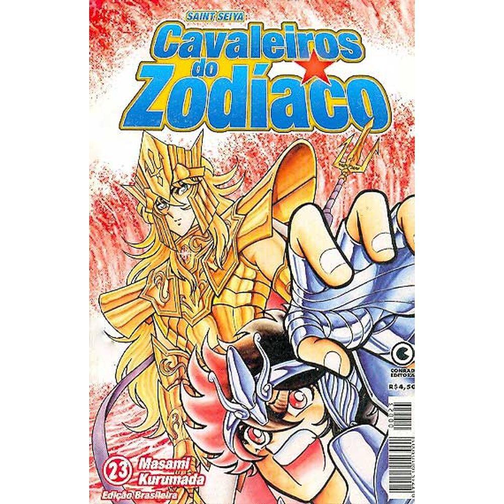 Os Cavaleiros do Zodíaco (Saint Seiya) - 1ª Edição - Volume 23 - Usado