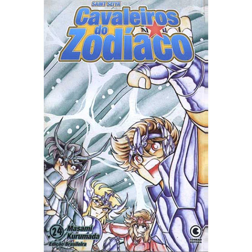 Os Cavaleiros do Zodíaco (Saint Seiya) - 1ª Edição - Volume 24 - Usado