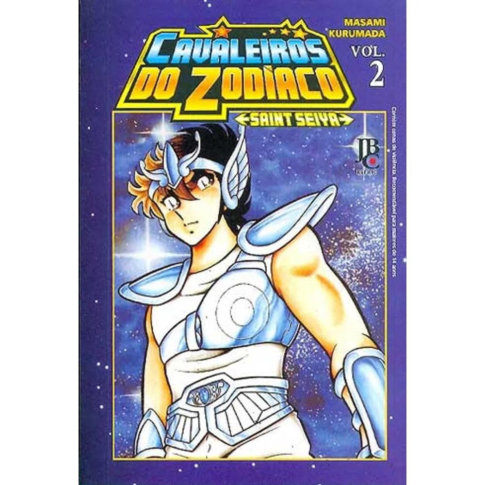 Os Cavaleiros do Zodíaco / Saint Seiya - Volume 02 - Usado
