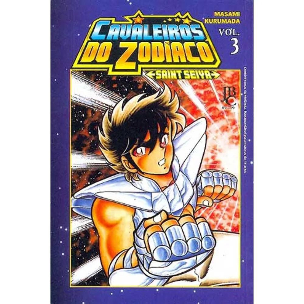 Os Cavaleiros do Zodíaco / Saint Seiya - Volume 03 - Usado