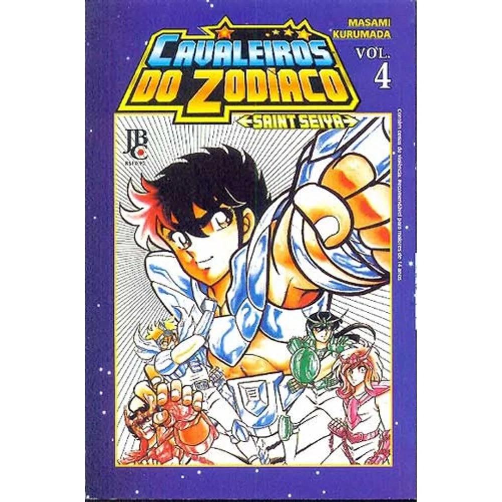 Os Cavaleiros do Zodíaco / Saint Seiya - Volume 04 - Usado