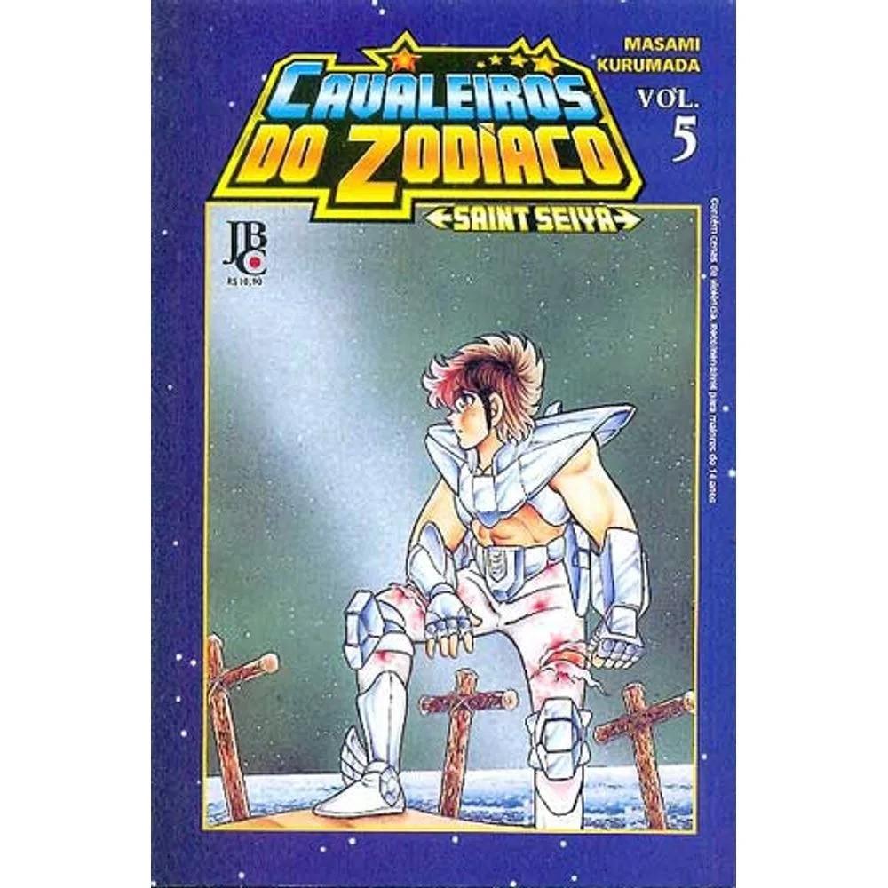 Os Cavaleiros do Zodíaco / Saint Seiya - Volume 05 - Usado