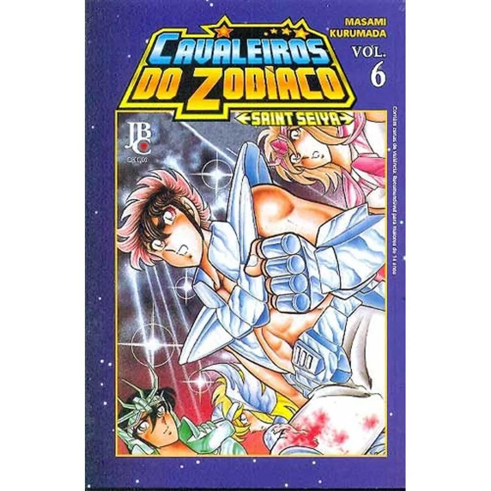 Os Cavaleiros do Zodíaco / Saint Seiya - Volume 06 - Usado