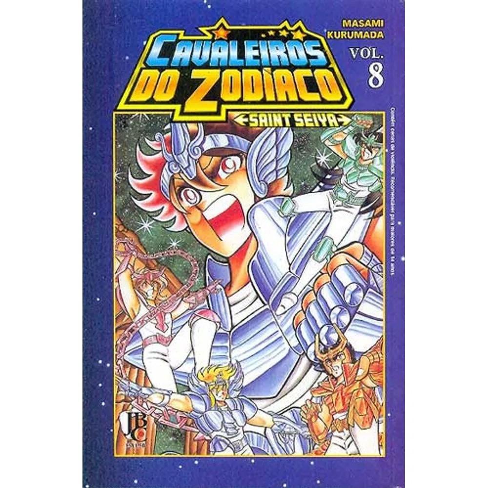 Os Cavaleiros do Zodíaco / Saint Seiya - Volume 08 - Usado