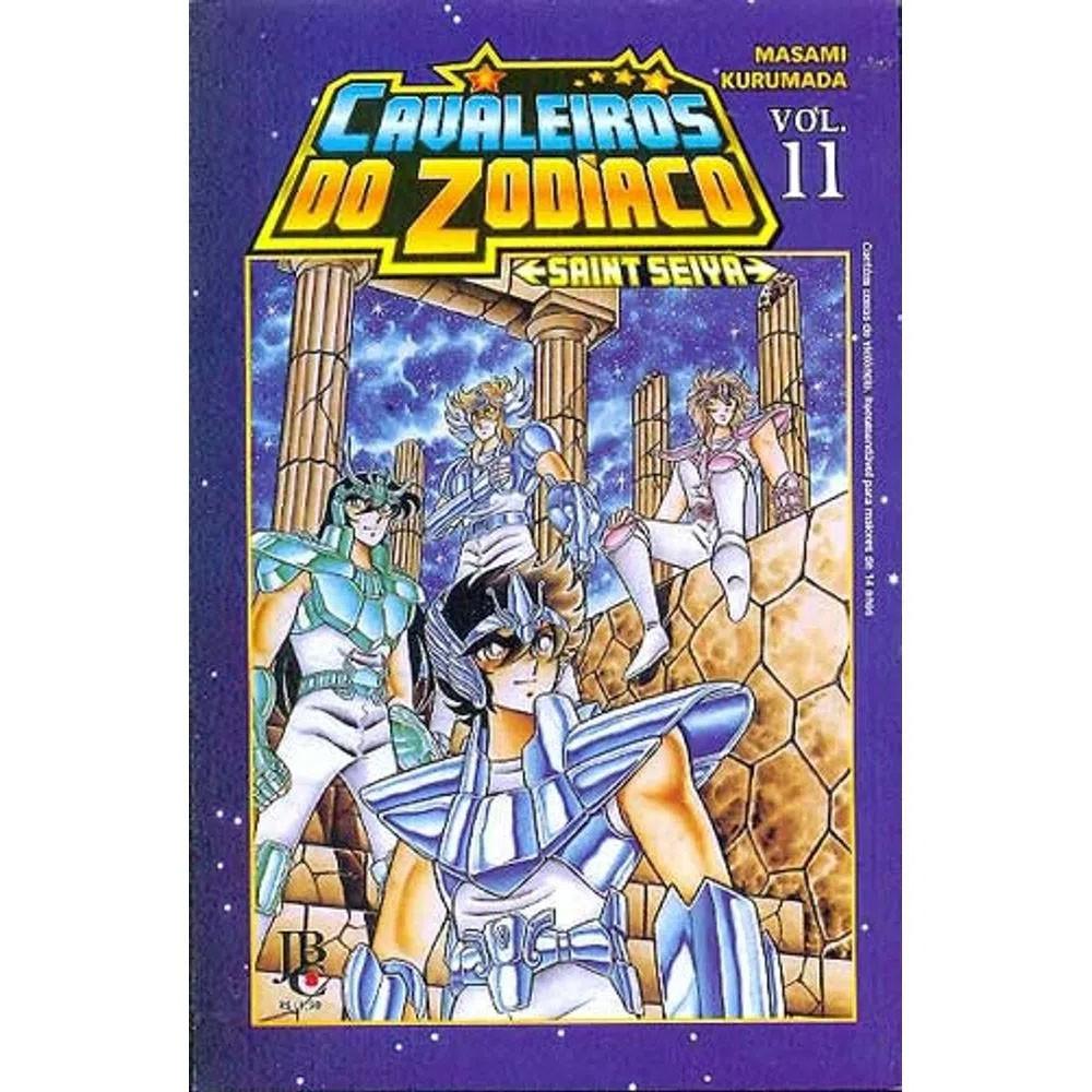 Os Cavaleiros do Zodíaco / Saint Seiya - Volume 11 - Usado