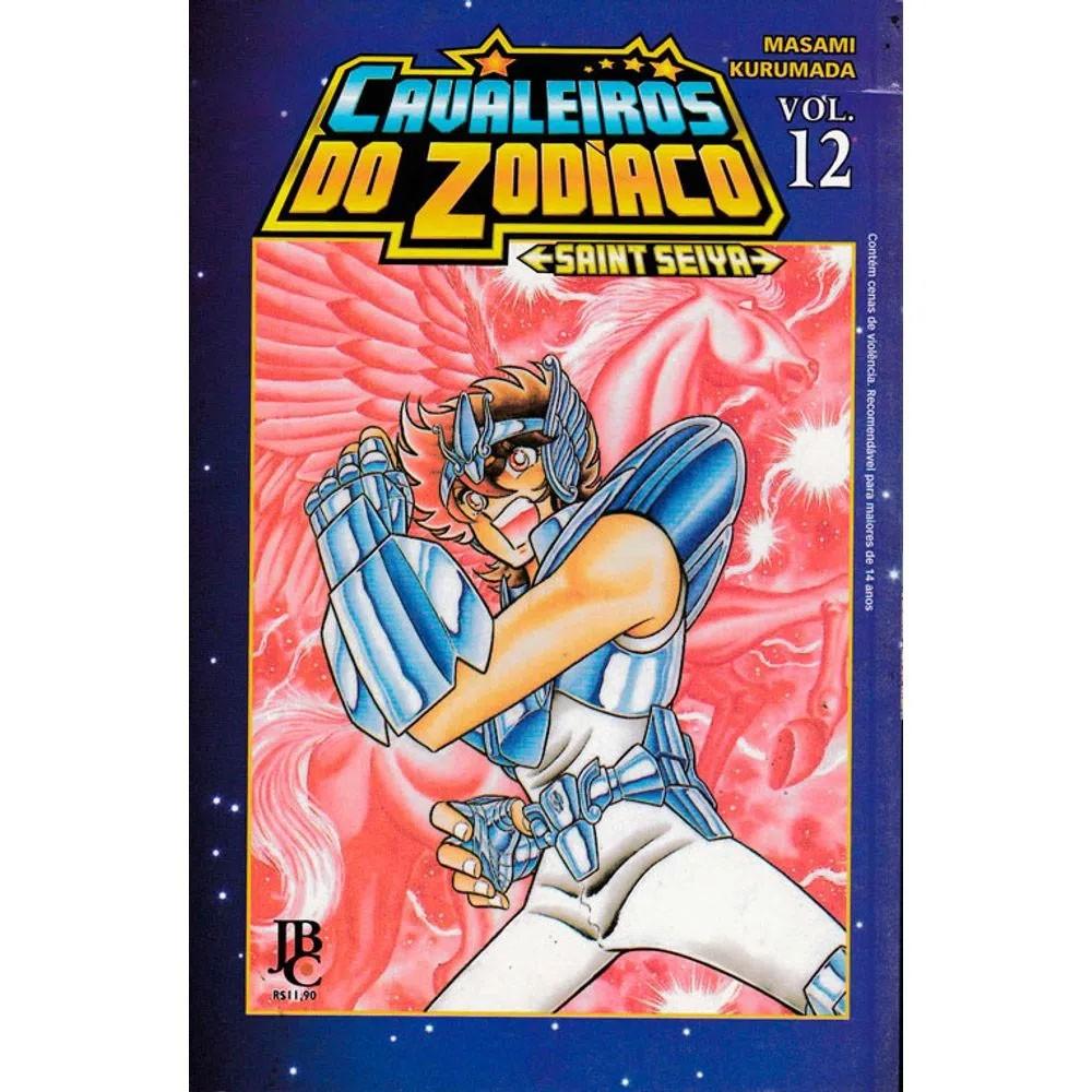 Os Cavaleiros do Zodíaco / Saint Seiya - Volume 12 - Usado