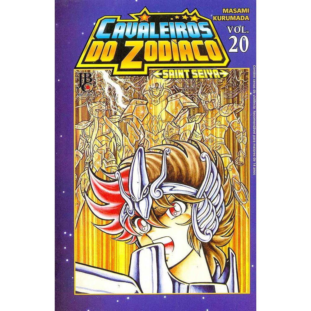 Os Cavaleiros do Zodíaco / Saint Seiya - Volume 20 - Usado