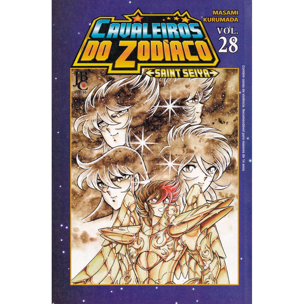 Os Cavaleiros do Zodíaco (Saint Seiya) - Volume 28 - Usado