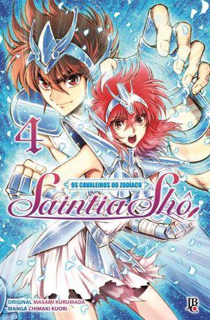 Os Cavaleiros do Zodíaco - Saintia Shô - Volume 04 - Usado