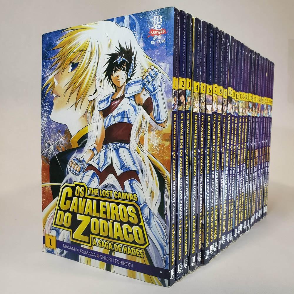 Os Cavaleiros do Zodíaco - The Lost Canvas - 1 ao 25 - Coleção Completa - Pack