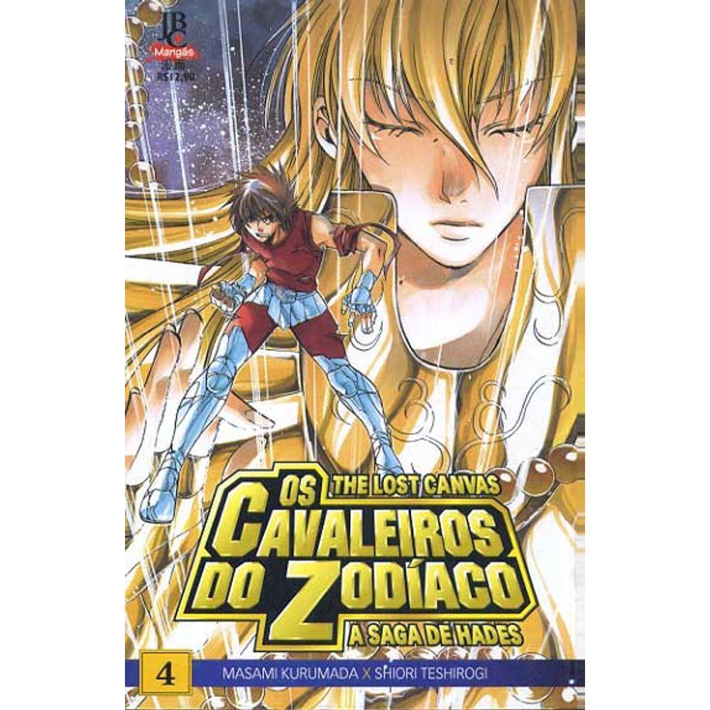Os Cavaleiros do Zodíaco - The Lost Canvas Especial - Volume 04
