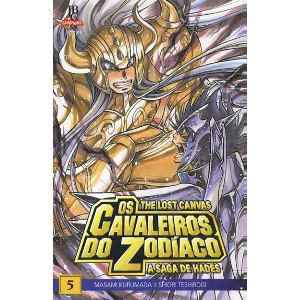 Os Cavaleiros do Zodíaco - The Lost Canvas Especial - Volume 05