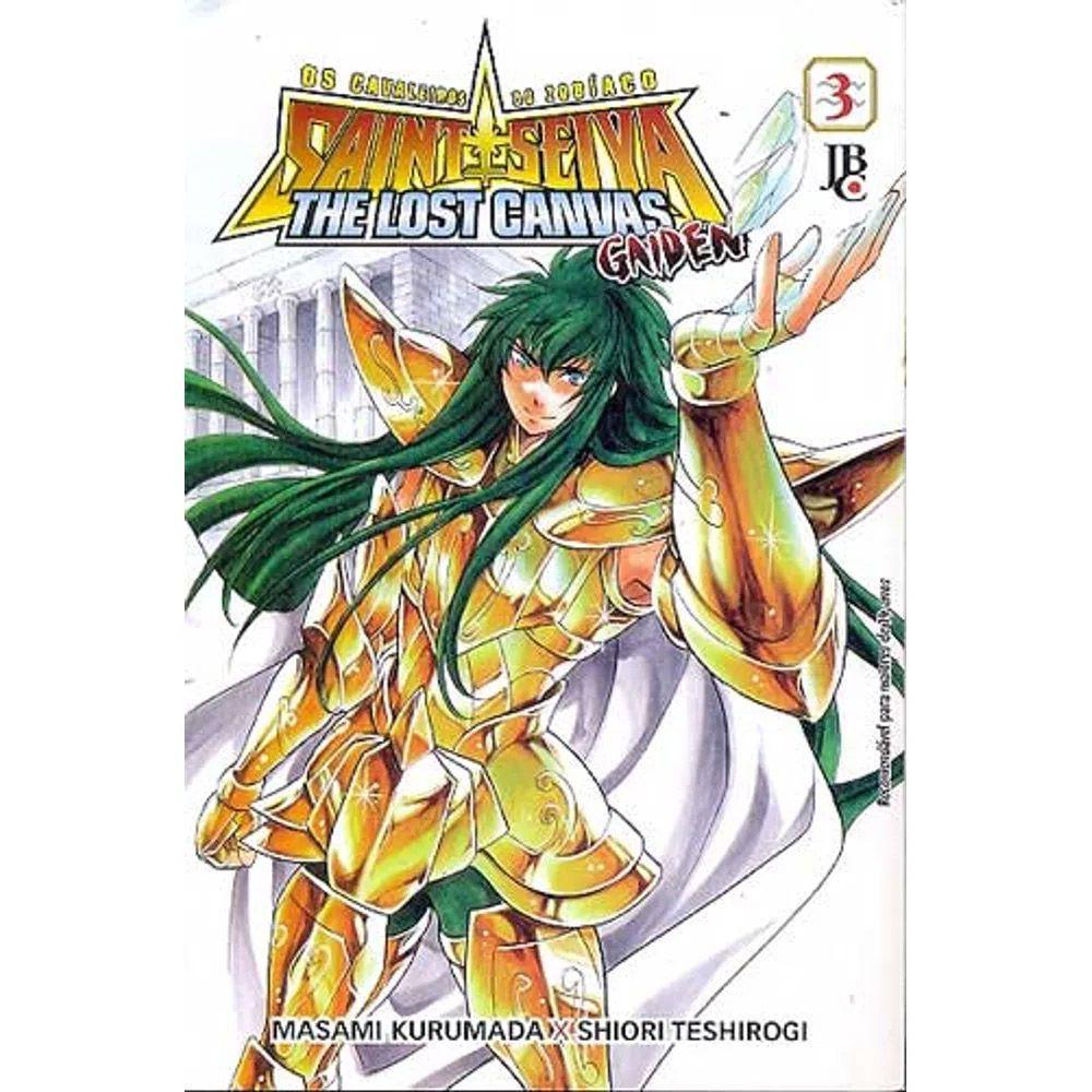 Os Cavaleiros do Zodíaco - The Lost Canvas Gaiden - Volume 03 - Usado