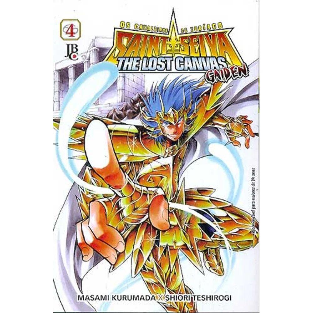 Os Cavaleiros do Zodíaco - The Lost Canvas Gaiden - Volume 04 - Usado