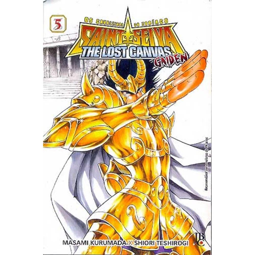 Os Cavaleiros do Zodíaco - The Lost Canvas Gaiden - Volume 05 - Usado