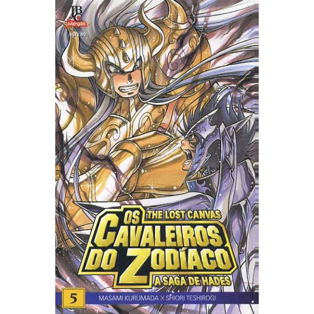 Os Cavaleiros do Zodíaco - The Lost Canvas - Volume 05 - Usado