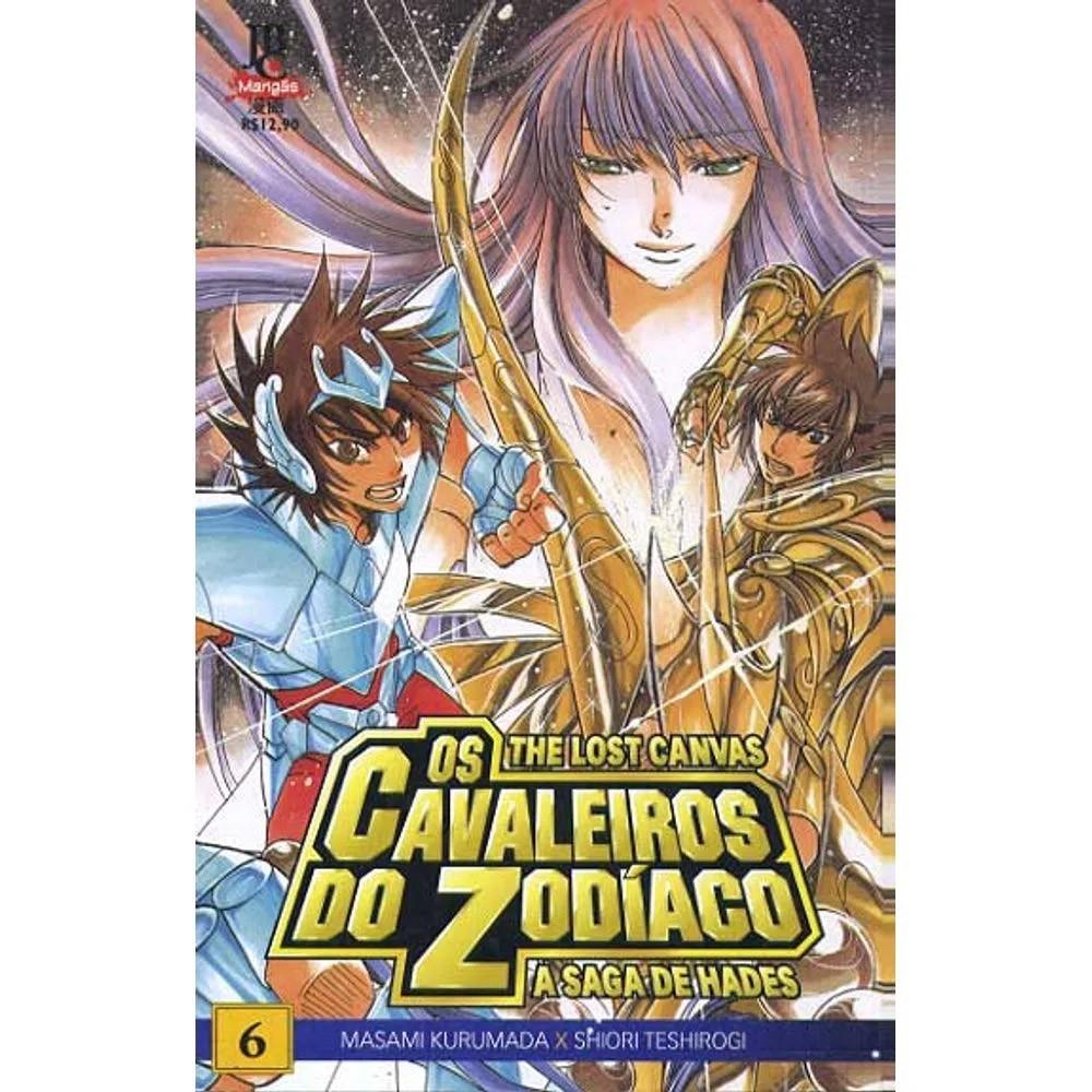 Os Cavaleiros do Zodíaco - The Lost Canvas - Volume 06 - Usado