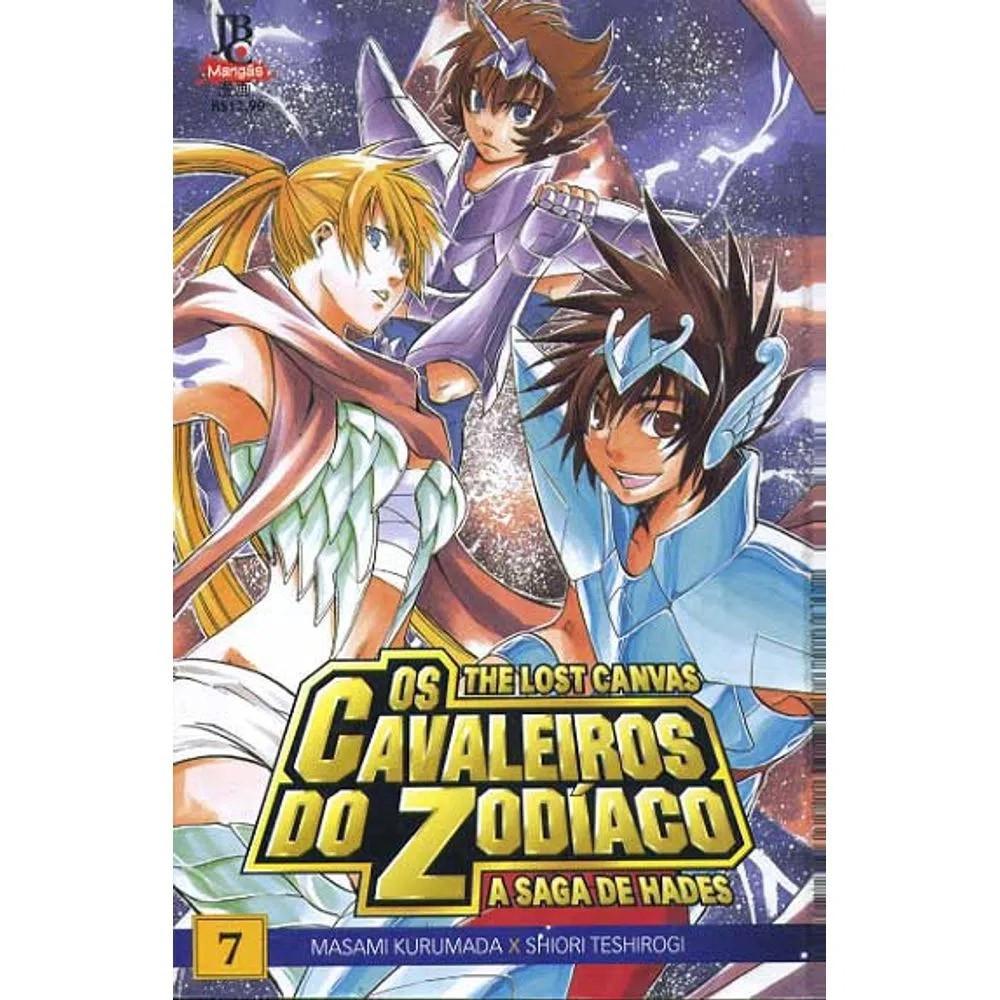 Os Cavaleiros do Zodíaco - The Lost Canvas - Volume 07 - Usado