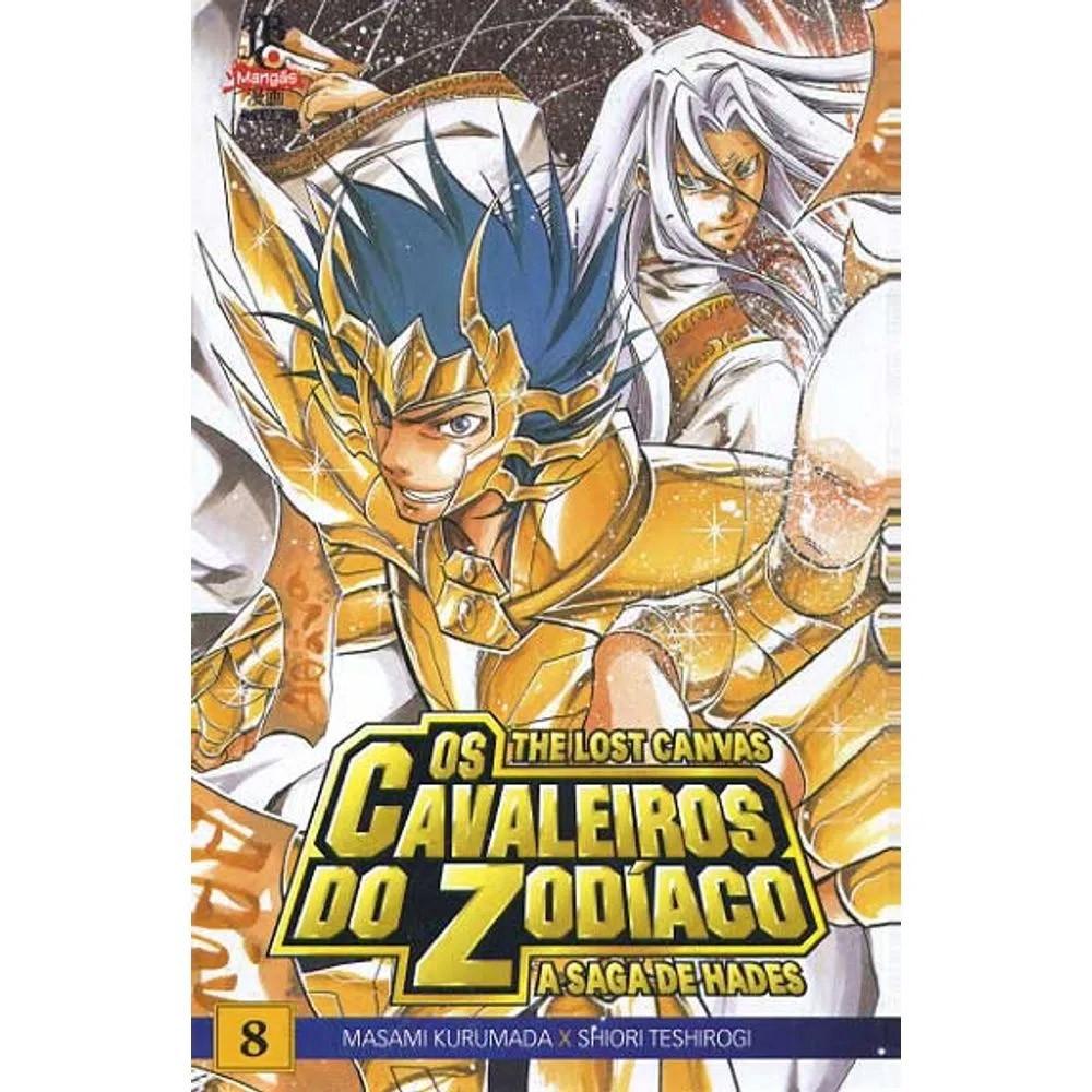 Os Cavaleiros do Zodíaco - The Lost Canvas - Volume 08 - Usado