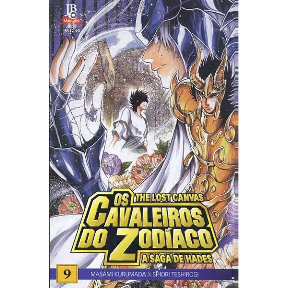Os Cavaleiros do Zodíaco - The Lost Canvas - Volume 09 - Usado