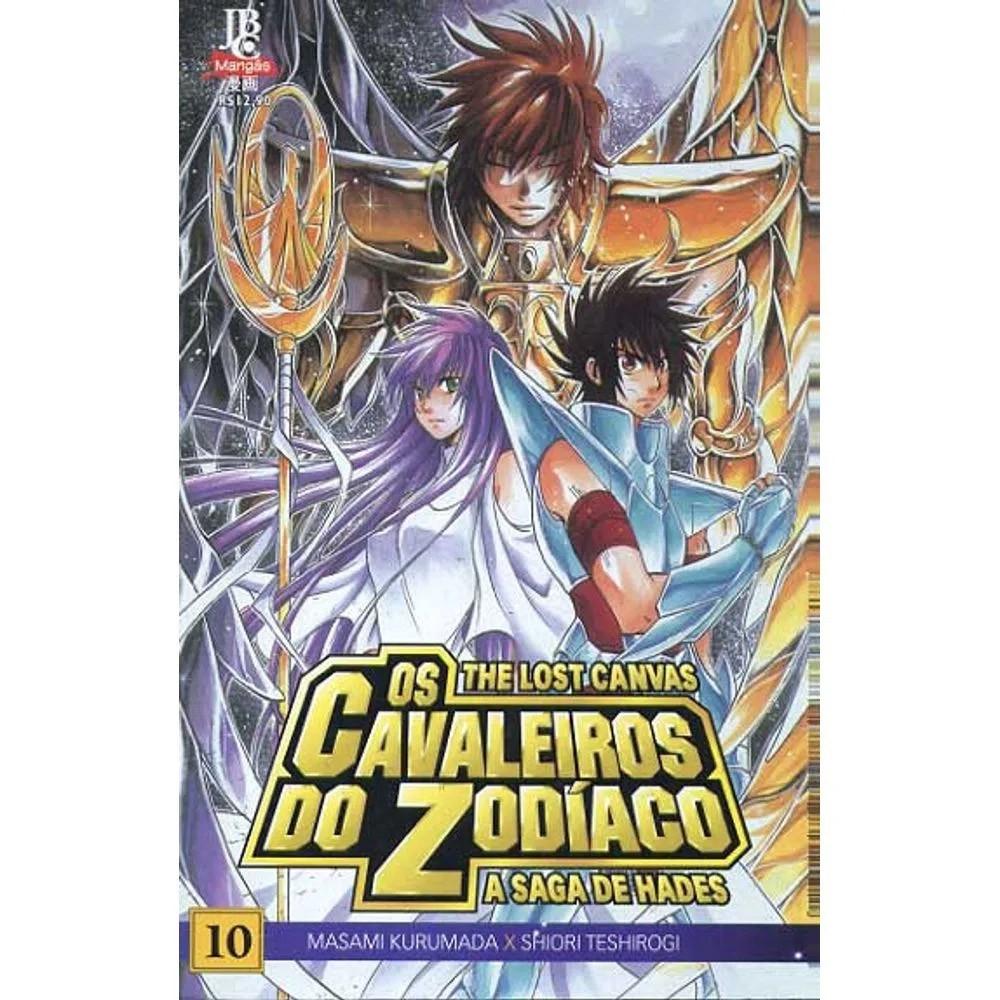 Os Cavaleiros do Zodíaco - The Lost Canvas - Volume 10 - Usado