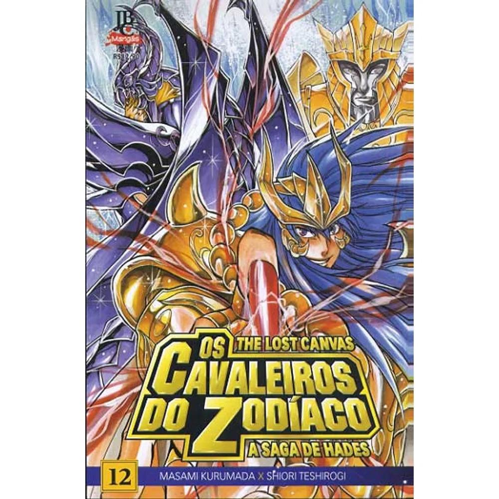 Os Cavaleiros do Zodíaco - The Lost Canvas - Volume 12 - Usado