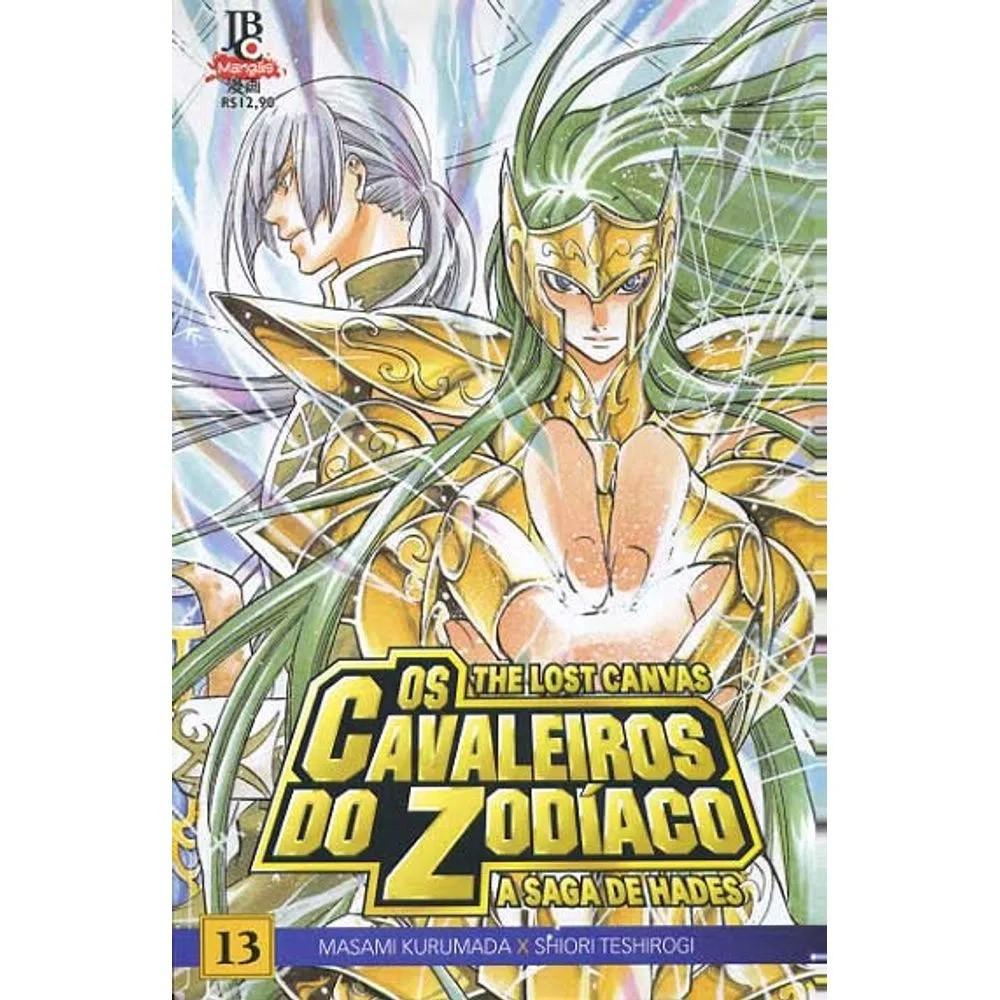 Os Cavaleiros do Zodíaco - The Lost Canvas - Volume 13 - Usado