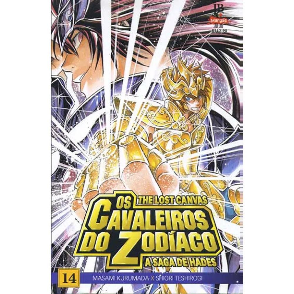 Os Cavaleiros do Zodíaco - The Lost Canvas - Volume 14 - Usado