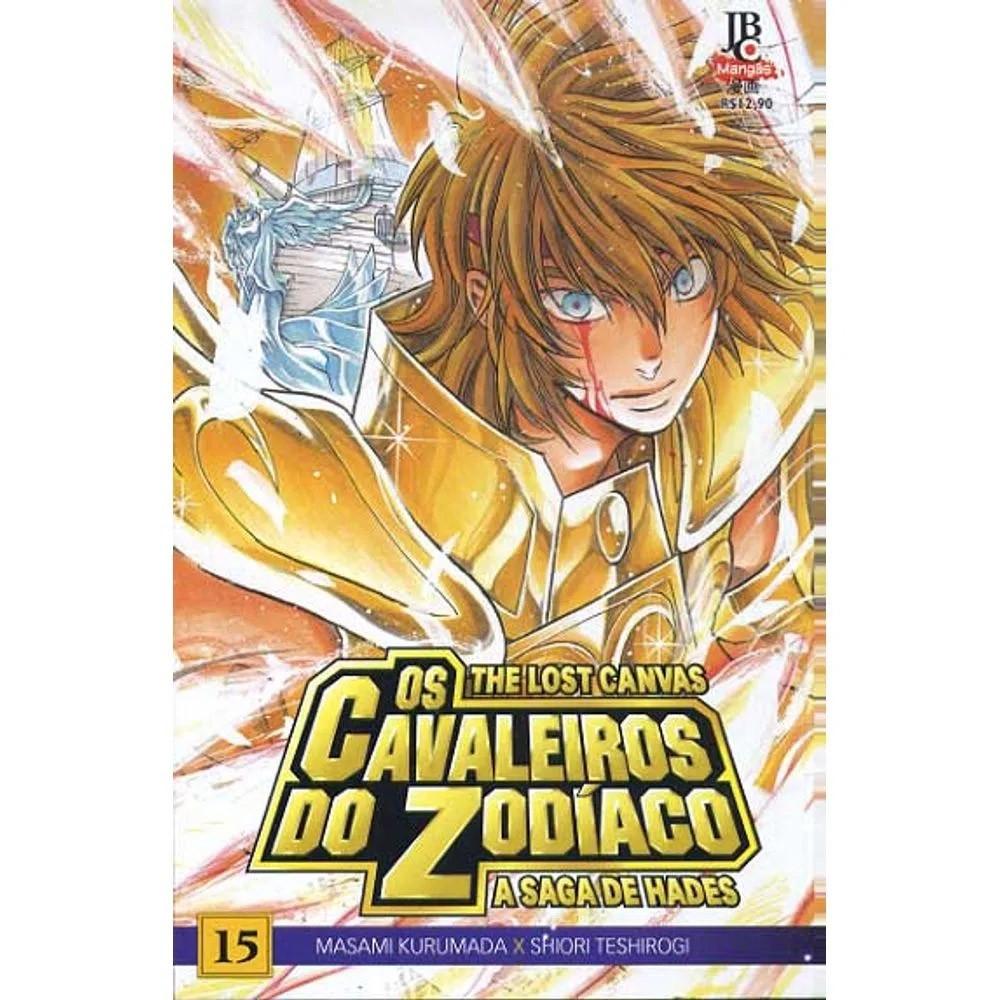 Os Cavaleiros do Zodíaco - The Lost Canvas - Volume 15 - Usado