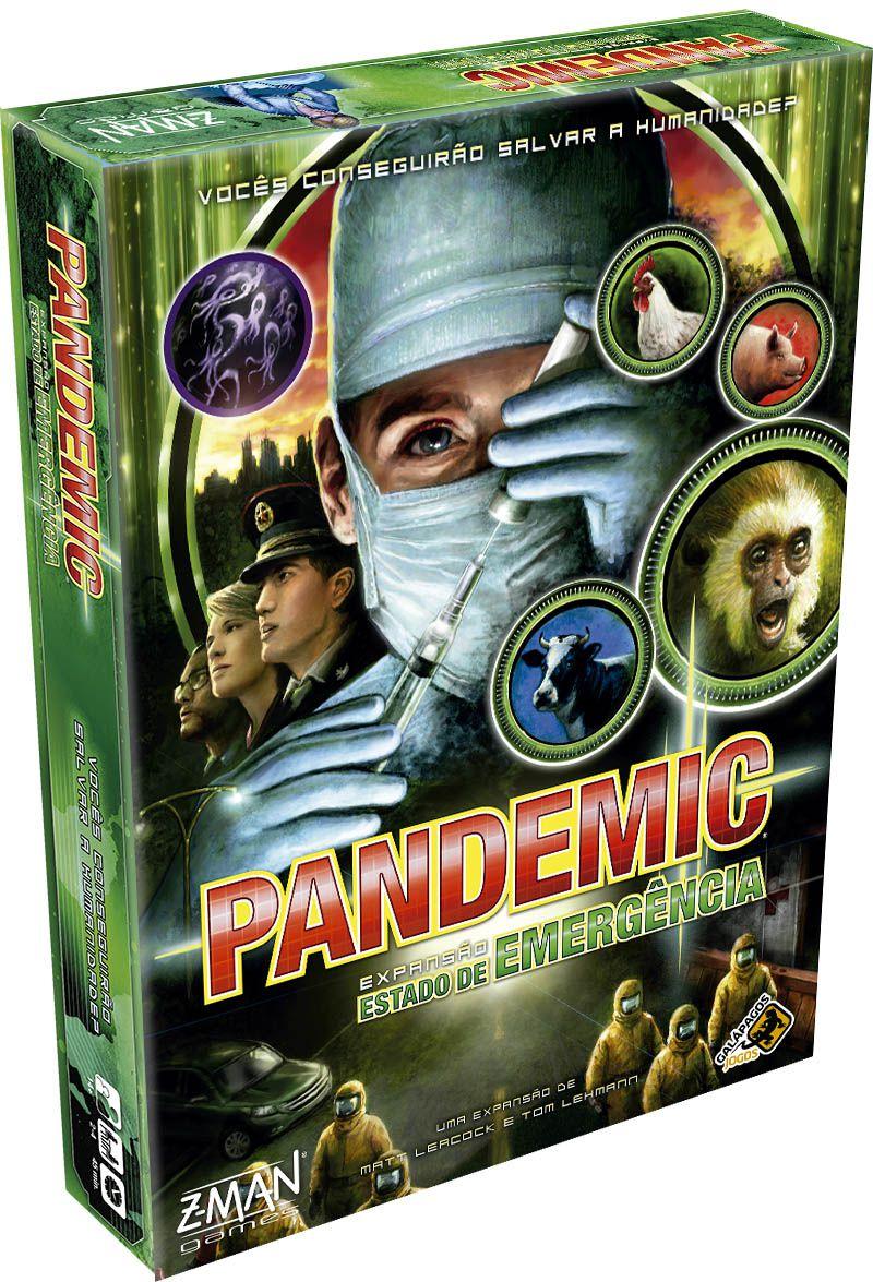 Pandemic Estado de Emergência - Expansão