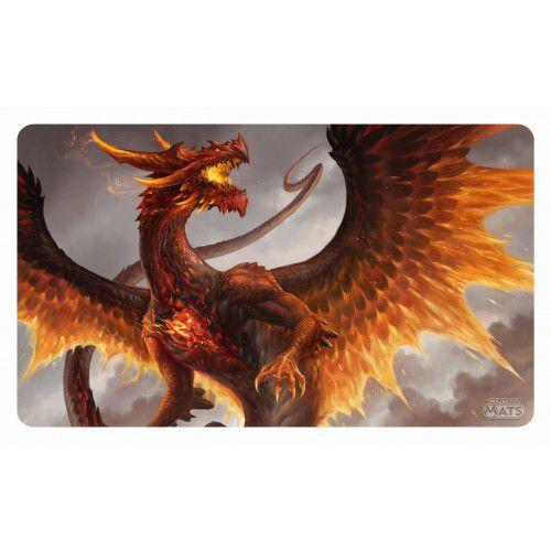 Playmat Dragão Cristal Rubi