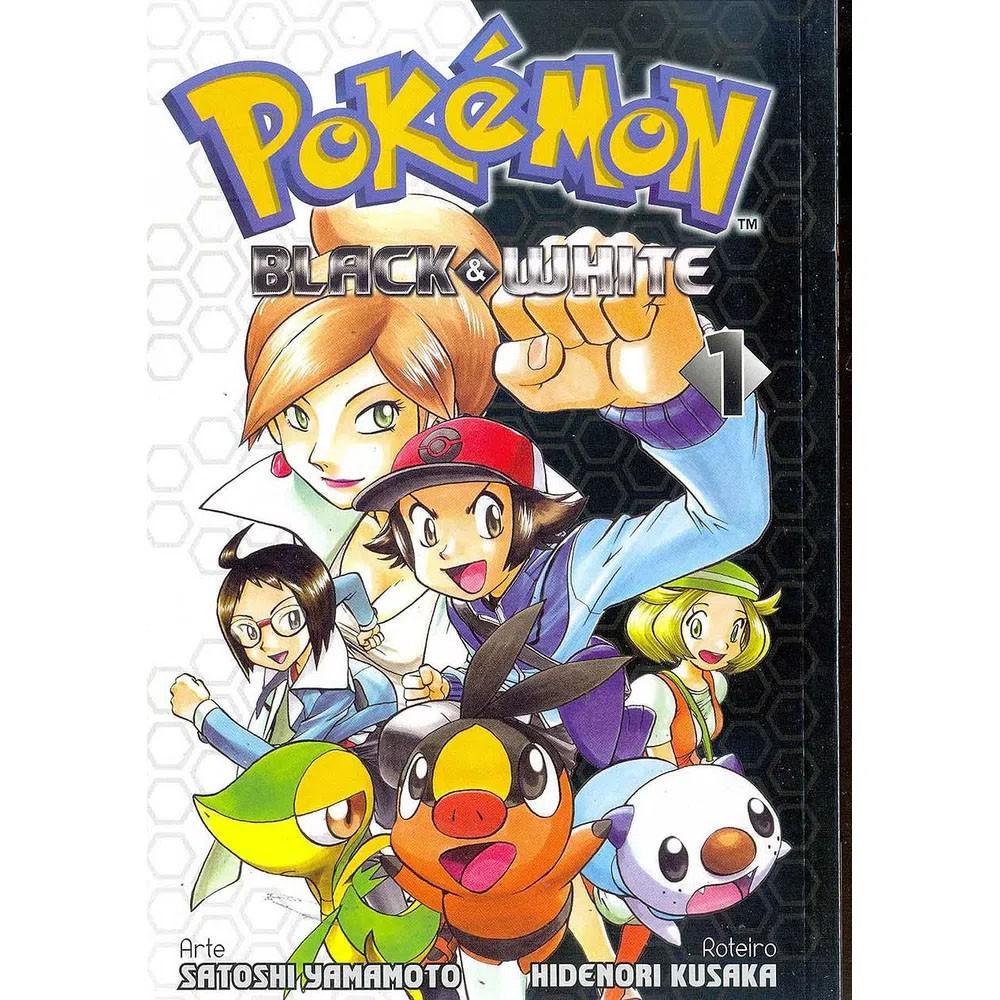 Pokémon Black & White - Volume 01 - Usado