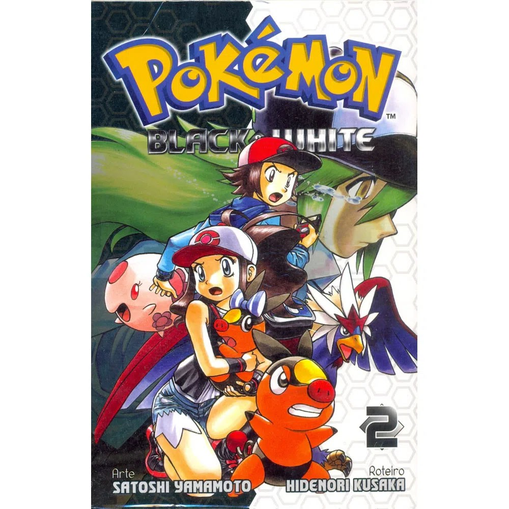 Pokémon Black & White - Volume 02 - Usado