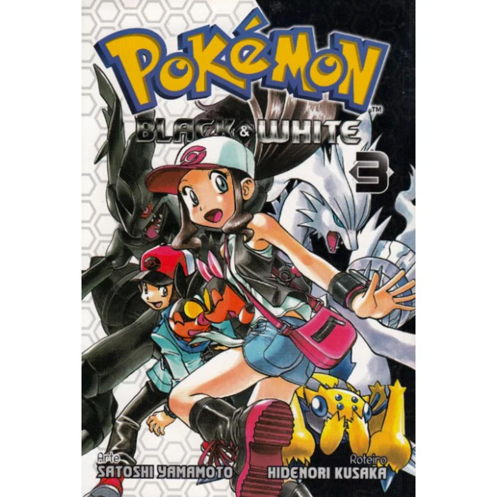 Pokémon Black & White - Volume 03 - Usado