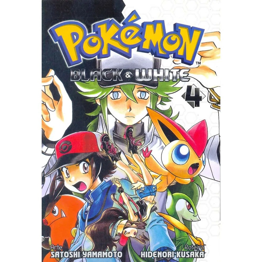 Pokémon Black & White - Volume 04 - Usado