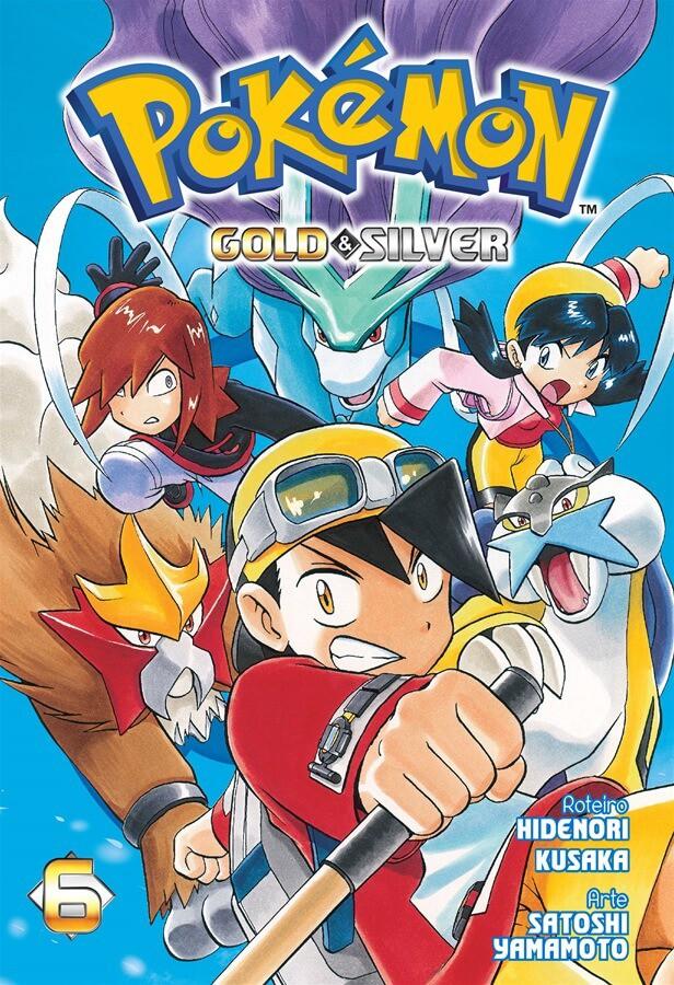 Pokémon Gold & Silver - Volume 06