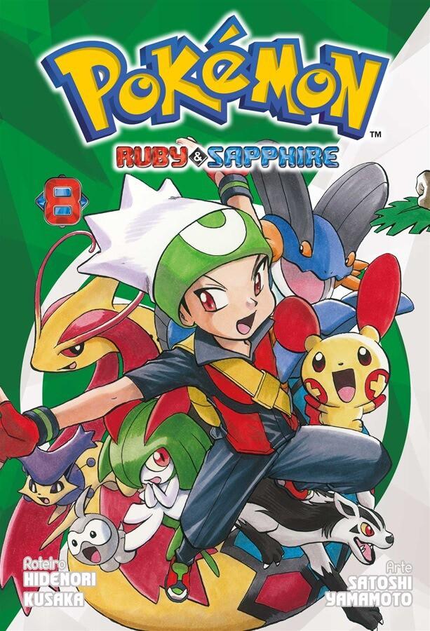 Pokémon Ruby & Sapphire - Volume 08