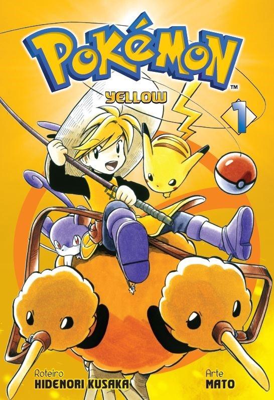 Pokémon Yellow - Volume 01 - Usado