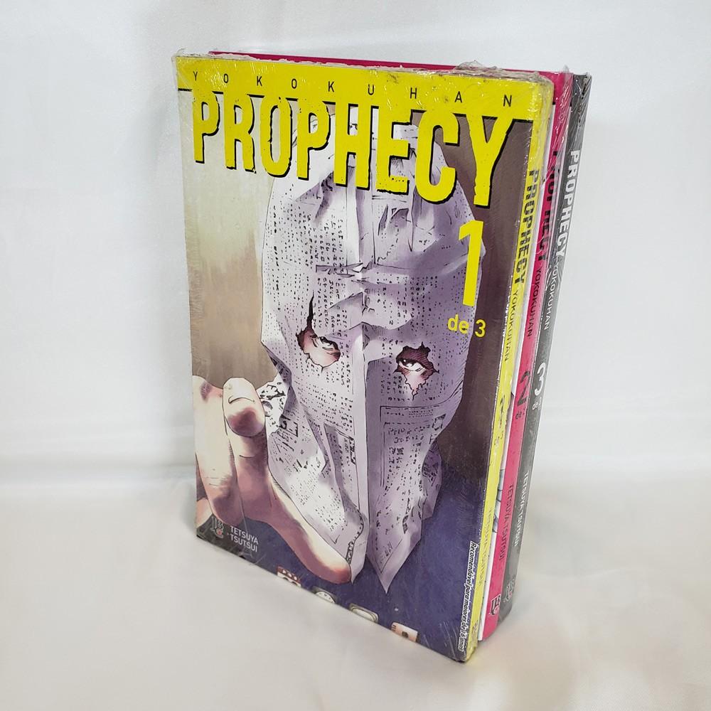 Prophecy - 1 ao 3 - Coleção Completa - Pack