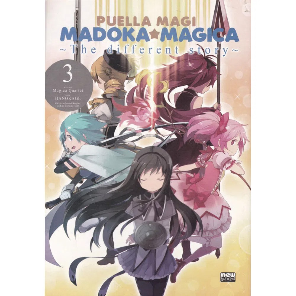 Puella Magi - Madoka Magica - The Different Story - Volume 03 - Usado