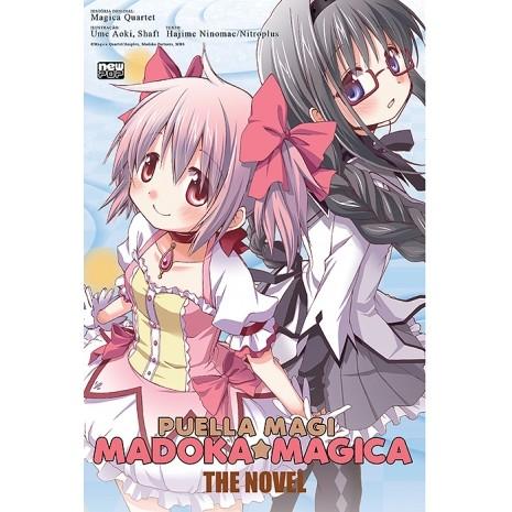 Puella Magi - Madoka Magica - The Novel - Volume Único - Novel - Usado