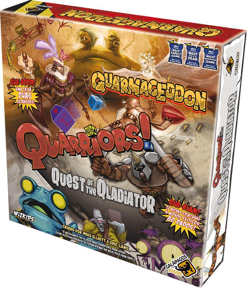 Quarriors Quarmageddon e Quest of the Qladiator - Expansão