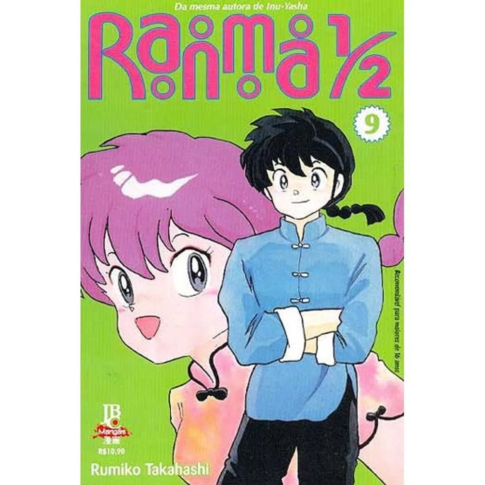 Ranma 1/2 - Volume 09 - Usado
