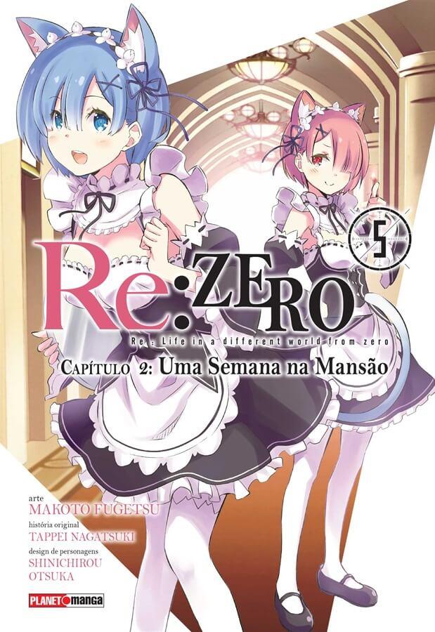 Re:Zero - Capítulo 02 - Uma Semana na Mansão - Volume 05